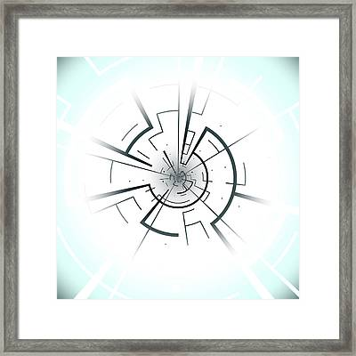 Abstract Patter Framed Print by Mehau Kulyk