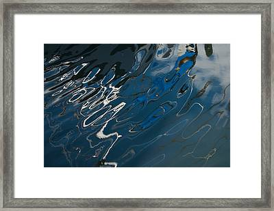 Framed Print featuring the photograph Abstract Reflection by Jani Freimann