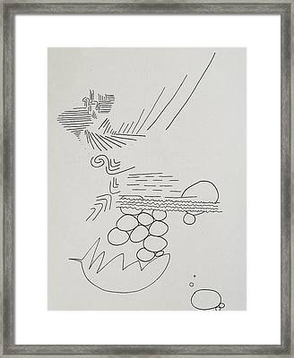 Abstract 84 Framed Print by Rick Stecz