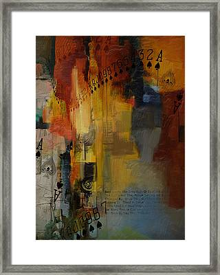 Abstract Tarot Art 013 Framed Print by Corporate Art Task Force