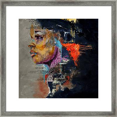 Abstract Women 015 Framed Print by Corporate Art Task Force