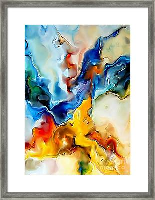 Abstraction 599-11-13 Marucii Framed Print