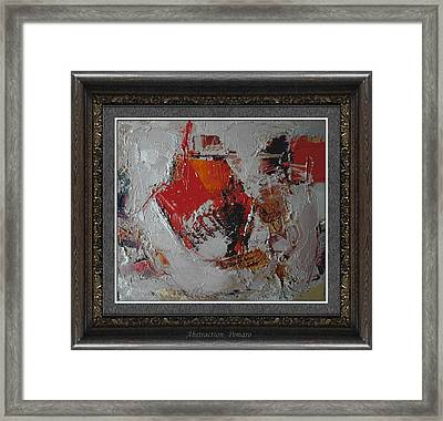 Abstraction Framed Print by Pemaro