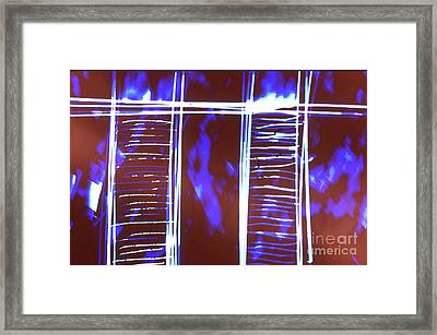 Abstrait 2 Framed Print