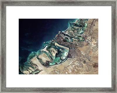 Abu Dhabi Framed Print by Planetobserver
