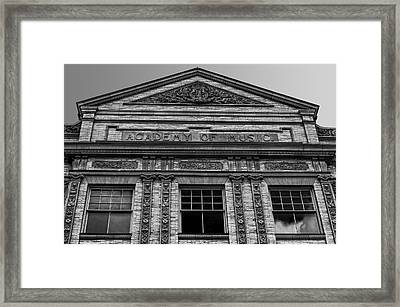 Academy Of Music Nothampton Massachusetts Framed Print