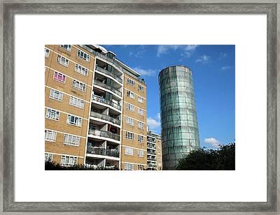 Accumulator Tower Framed Print