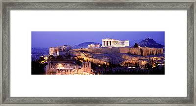 Acropolis, Athens, Greece Framed Print