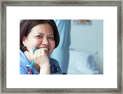 Acute Medical Unit Framed Print by Life In View