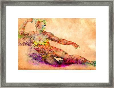 Adam Framed Print by Mark Ashkenazi