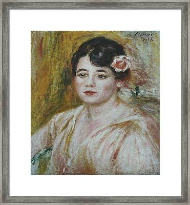 Adele Besson Framed Print by Celestial Images