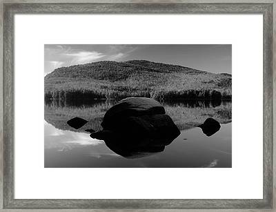 Pharoah Lake Reflections Framed Print