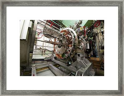 Aegis Experiment At Cern Framed Print by Cern/science Photo Library