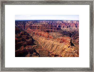 Aerial View Grand Canyon Framed Print by Thomas R Fletcher