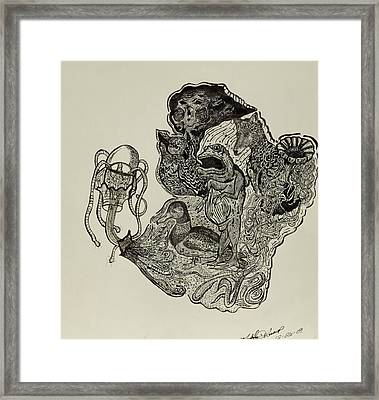 Aesop's Fables  Framed Print by Nickolas Kossup