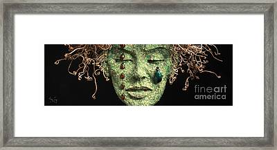 Aestus Rest A Sculpture By Adam Long Framed Print