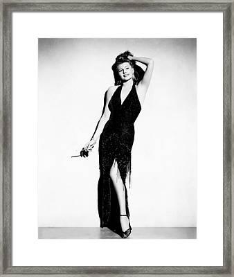 Affair In Trinidad, Rita Hayworth, 1952 Framed Print by Everett