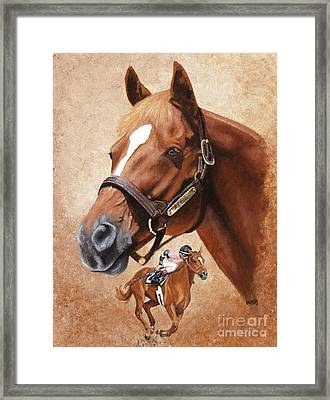 Affirmed Framed Print by Pat DeLong
