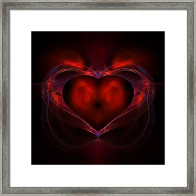 Aflame Framed Print by Lyle Hatch