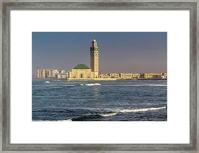 Africa, Morocco, Casablanca Framed Print