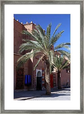 Africa, Morocco, Ouarzazate Framed Print