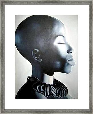 African Elegance - Original Artwork Framed Print