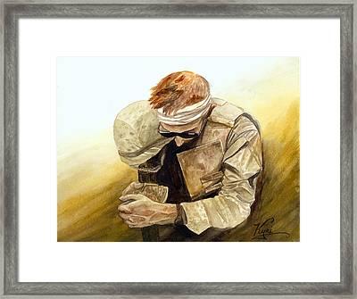 After Najaf Framed Print by Annette Redman