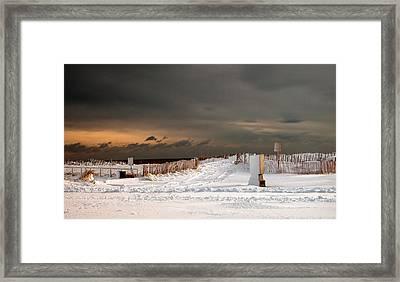 After The Storm Framed Print