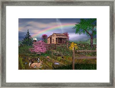 After The Storm Framed Print by Mary Almond