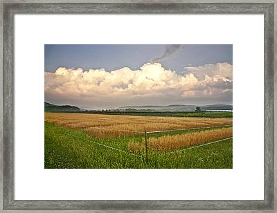 After The Storm Framed Print by Stan Bowman