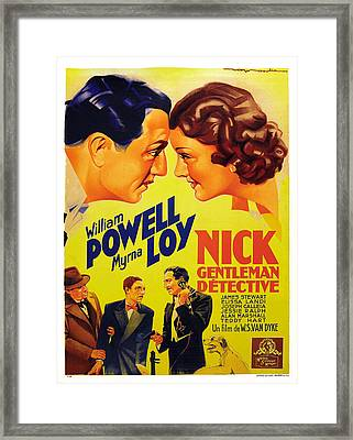 After The Thin Man, Aka Nick, Gentleman Framed Print by Everett