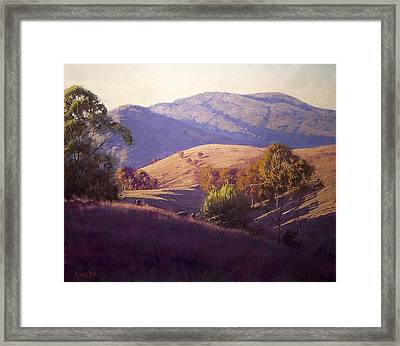 Afternoon Shadows Framed Print by Graham Gercken