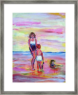 Afternoon Tide Framed Print by Patricia Taylor