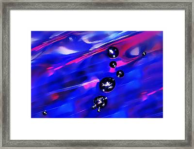 Against The Current Framed Print by Terril Heilman