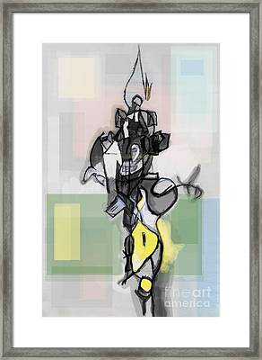 Self-renewal 12c Framed Print by David Baruch Wolk