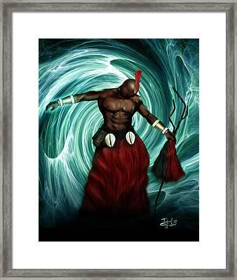 Ago'lona Framed Print by Ismail Ghafoor