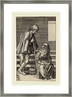 Agostino Dei Musi After Raphael Italian Framed Print by Litz Collection