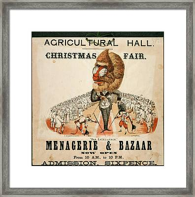 Agricultural Hall Framed Print