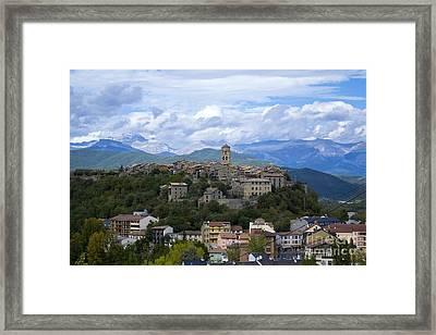 Ainsa Landscape Framed Print