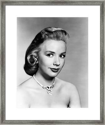 Aint Misbehavin, Piper Laurie, 1955 Framed Print by Everett