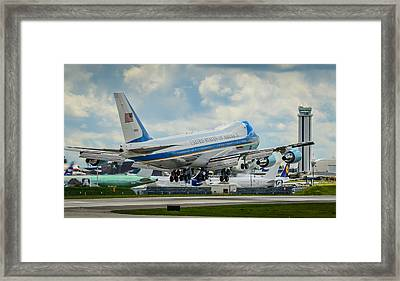 Air Force One Framed Print by Puget  Exposure