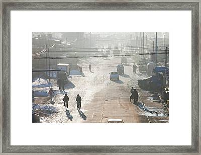 Air Pollution Framed Print