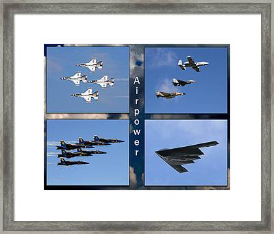 Air Power Framed Print