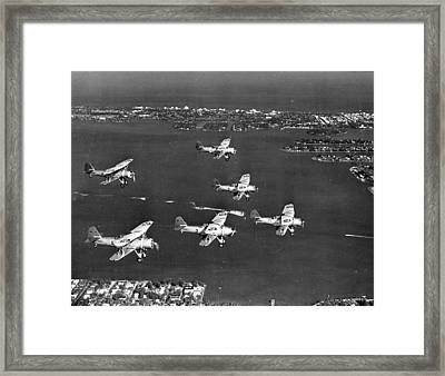 Air Race Framed Print by Retro Images Archive