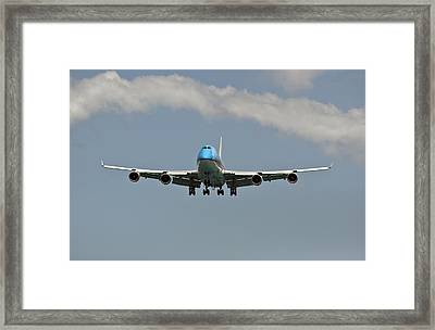 Air Transportation. Passenger Airplane. Framed Print by Fernando Barozza