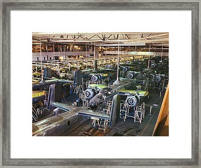 Aircraft Factory, 1942 Framed Print
