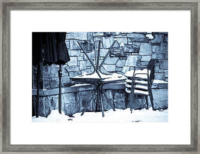 Al Fresco Framed Print by Denice Breaux