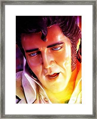 Framed Print featuring the photograph Ala Elvis by Allen Beilschmidt