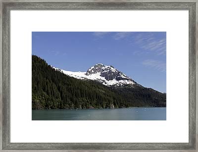 Alaska Sea-landscape Framed Print