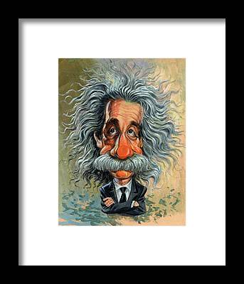 Genius Framed Prints